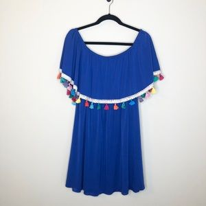 Judith March off the shoulder dress size large